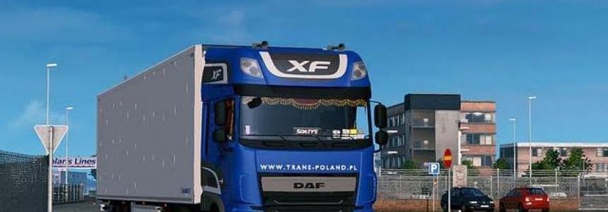 Daf XF Euro6 + Interior + Krone CoolLiner trailer