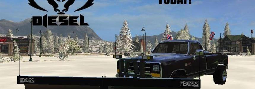 Dodge Cummins SNOW PLOW Turbo Diesel v1.0
