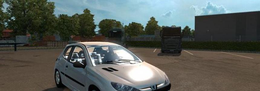 ETS 2 Peugeot 206 Mod