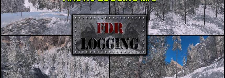 FDR Logging - Arctic Logging Map