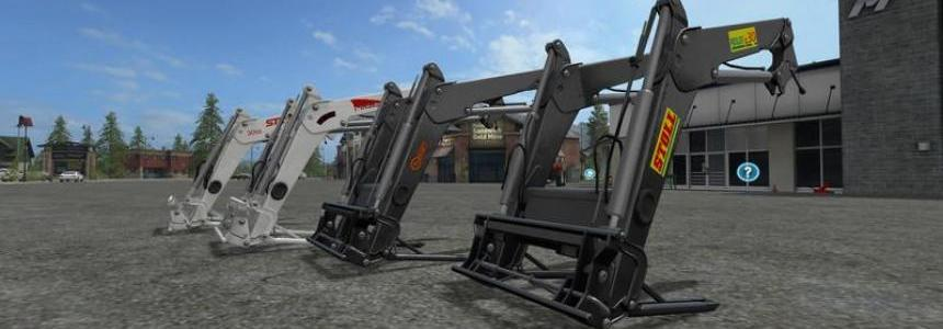 Front loader for medium tractors v1.0