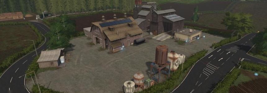 Higher Hills Farming simulator 17 v2.0