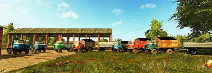 IFA Pack Trucks v1.0