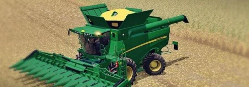 John Deere S690i Full Washable Pack v1.0