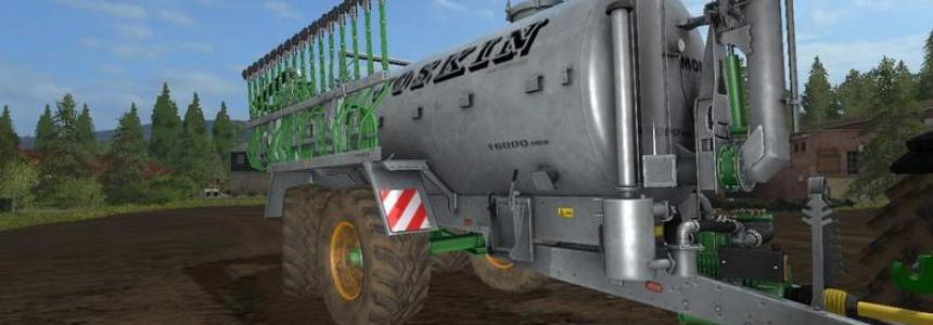 Joskin Modulo2 with steering axle v1.0