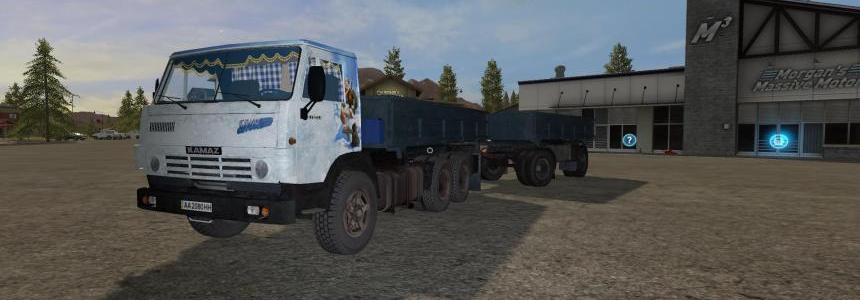 Kamaz-5320 & Nefaz-8560 v1.0