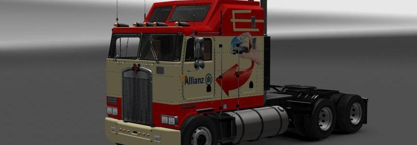 Kenworth K100 Allianz skin v1