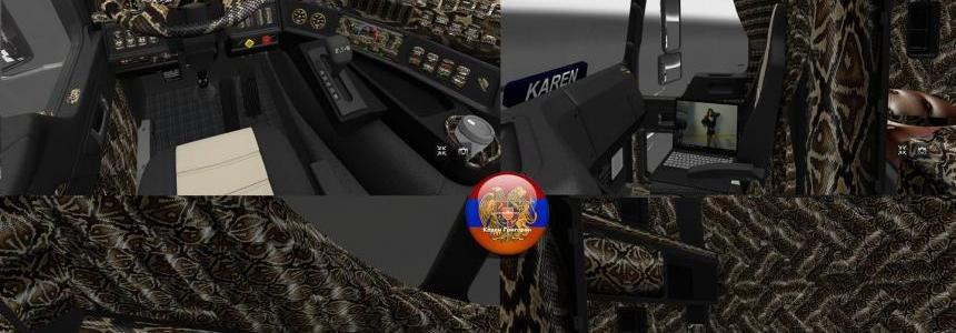 Kenworth K200 New Texture Anaconda
