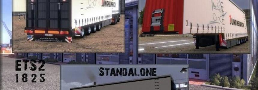 Krone 4Axles Jumbo Curtainsider v9