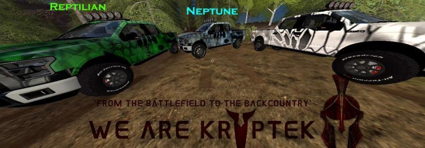 Kryptek  Ford F-150 -3 Color PACK v1.0