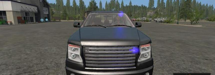 Lizard Pickup TT Unmarked Police v1.0
