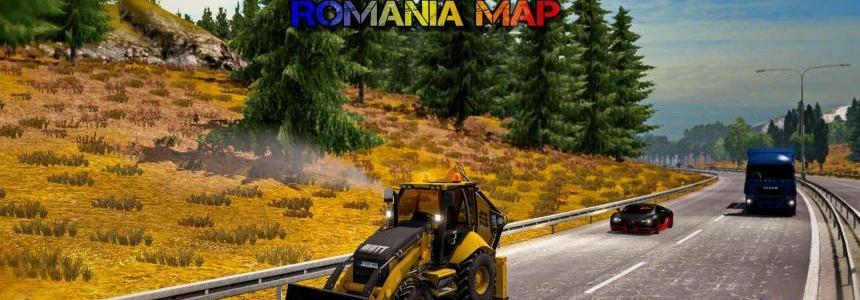 Map of Romania v9.0.7 1.26