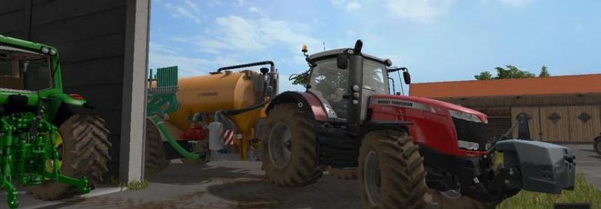 Massey Ferguson 8700 with IC-Control v1