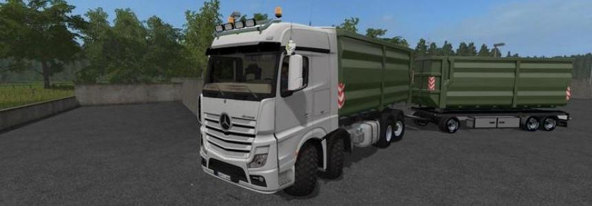 Mercedes Actros MP4 IT Runner 8x8 v1.3.0