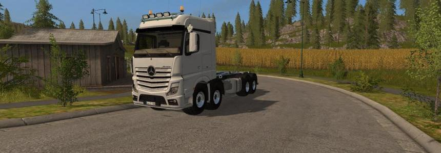 Mercedes Benz Actros It Runner v2.2.0