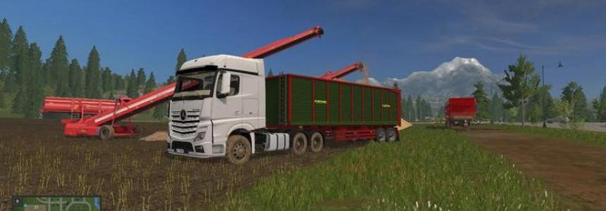 Mercedes Benz Actros MP4 v1.1