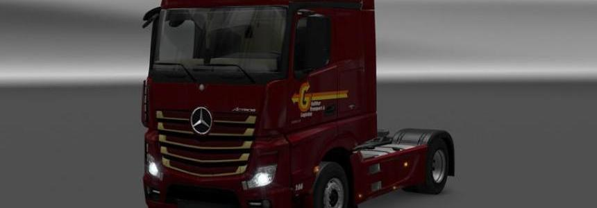 Mercedes Benz - Galliker Transport & Logistics v1.0