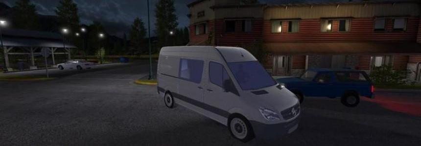 Mercedes Benz Sprinter 2010 v1.0