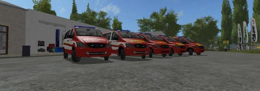 Mercedes-Benz Vito Skin Pack V0.9