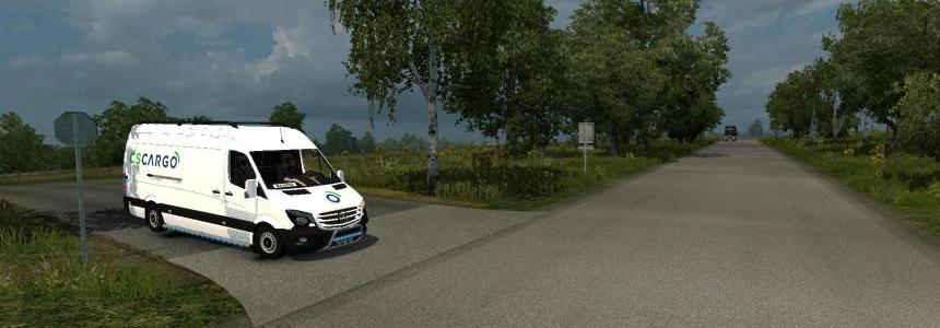 Mercedes Sprinter Long 2014 – CS Cargo Skin 1.26