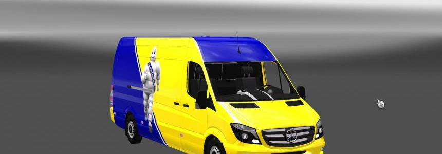 Mercedes Sprinter Long 2014 – Michelin Skin 1.26