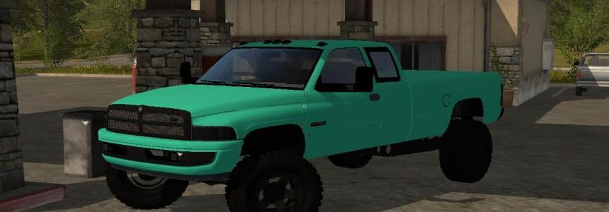 Mint Green 2nd Gen Dodge 3500 Cummins v1