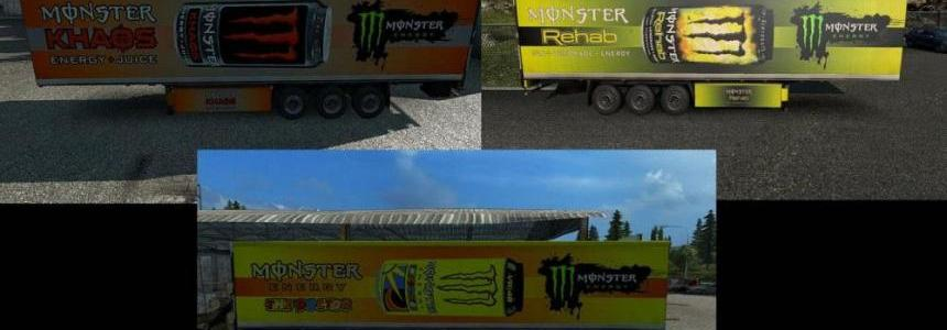 Monster Energy Trailers Pack