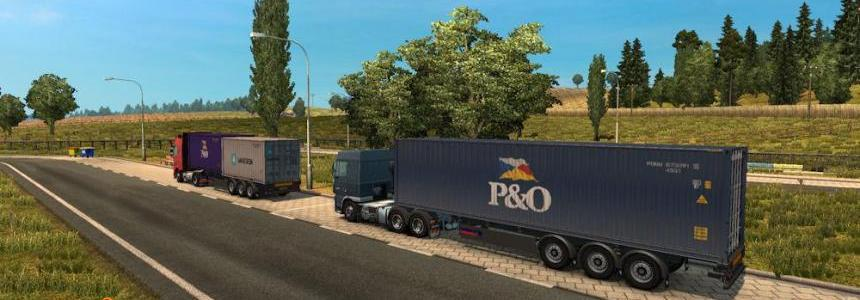 New Painted Trailer Traffic by Fred be V1.26