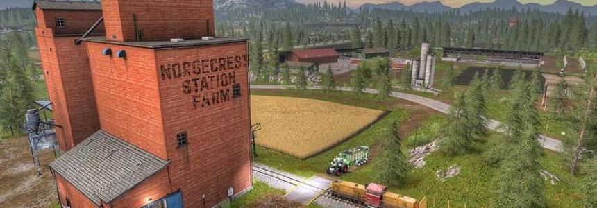 Norge Crest Valley 17 V1.5 ChoppedStraw & animated drinks