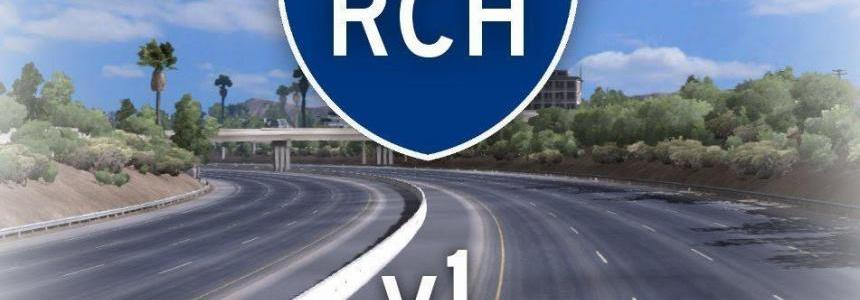 Realistic California Highways v1.0
