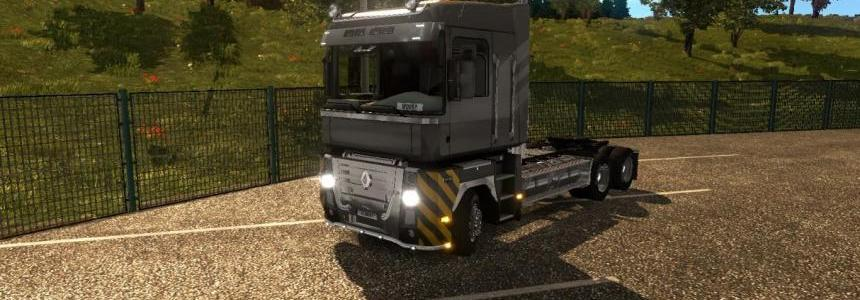 Renault Magnum 6x4 Chassis US CAT 660 Modifier v1.0