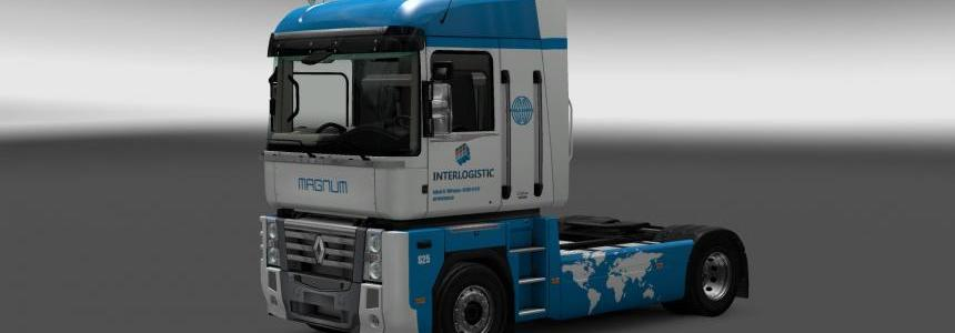 Renault Magnum Interlogistic skin v1