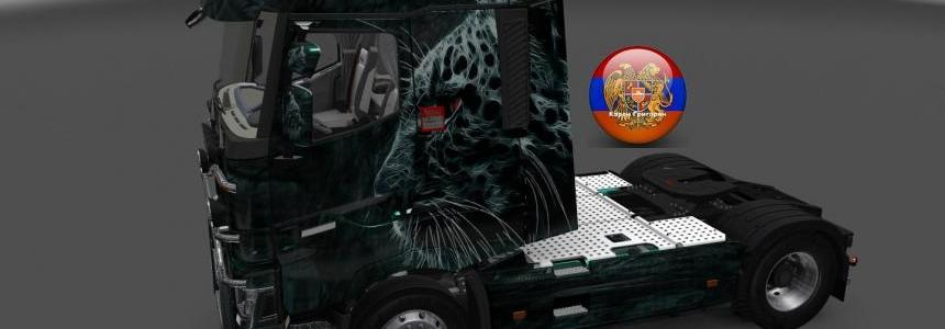 Renault T Leo Style Skin 1.26.3s