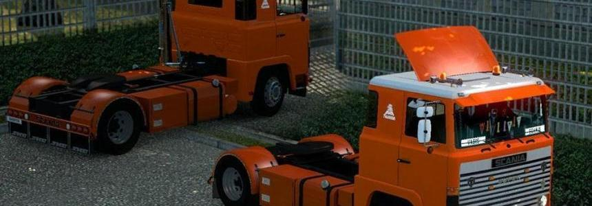 SCANIA 1 SERIES (111 & 141) Truck v1.0