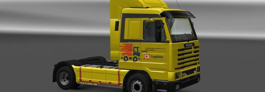 Scania 143M CS Logistic skin v1