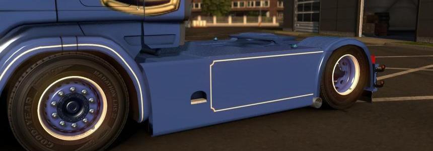 Scania 4 Series RJL Danish Sideskirts