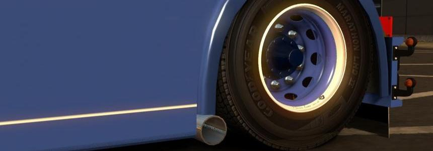 Scania 4 Series RJL Sidepipes