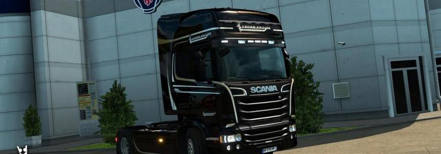 Scania Crown Edition + Colored Display v2