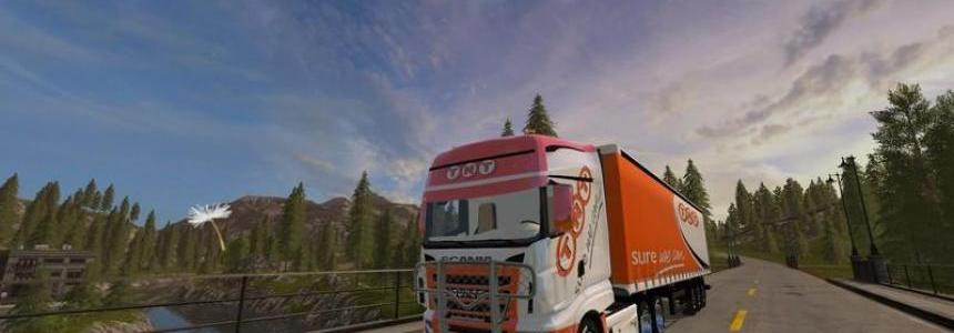 Scania R 700 TNT v1.0