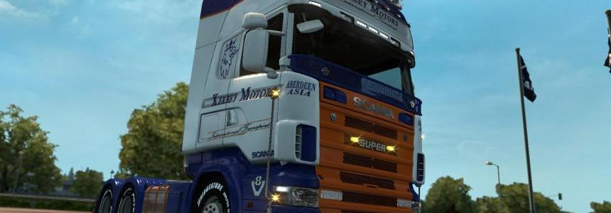 Scania R4 series by RJL Kerbey Motors skin 1.26