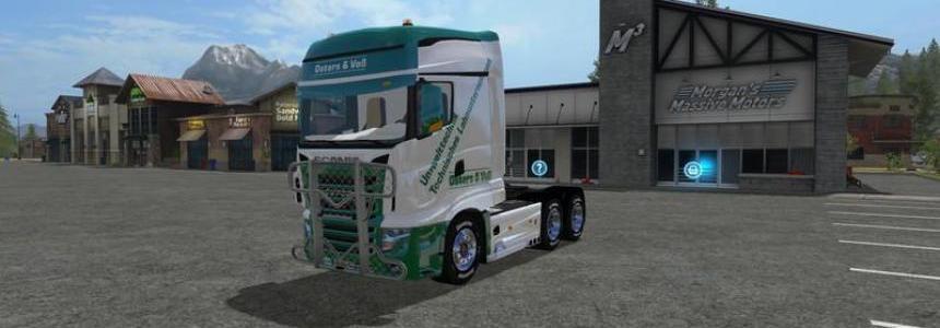 Scania R700 Easter & Voss v1.0