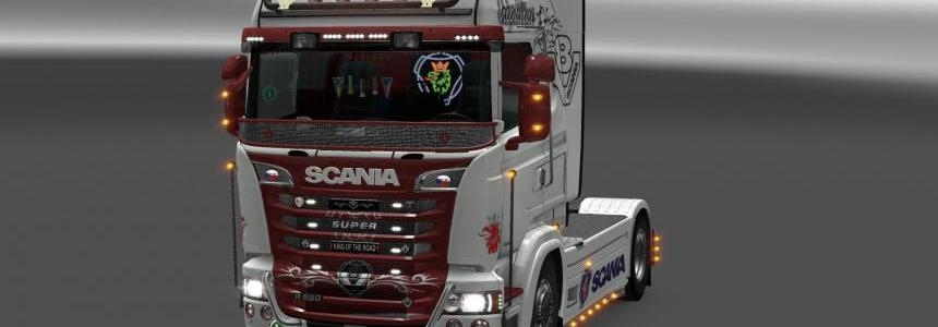 Scania RJL Highline + topline