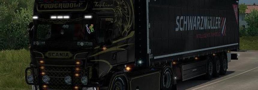 Scania RJL Power Wolf Skin