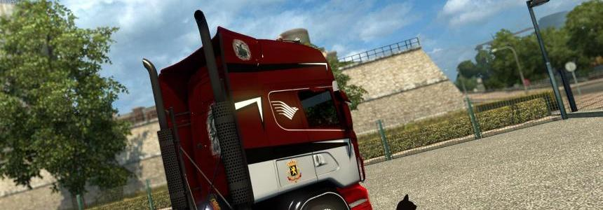 Scania R&S Topline Dellemans skin 1.26