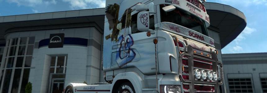 Scania R&S Topline Trio-Trans skin 1.26