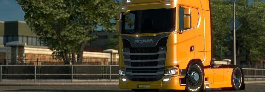 Scania S 2017 Low Chassis v1.0