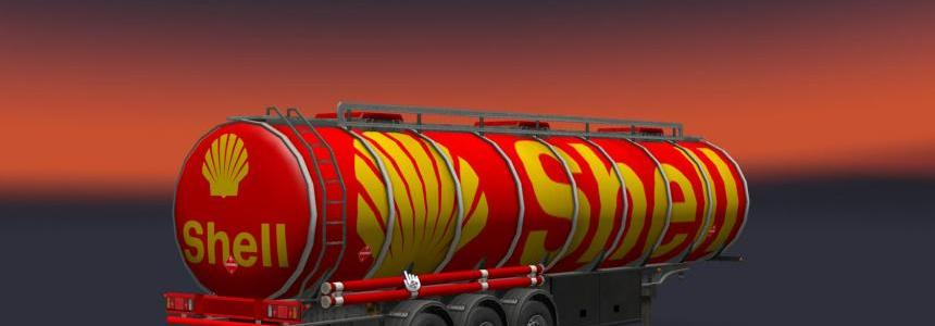 Shell Fuel Trailer 1.25 1.26