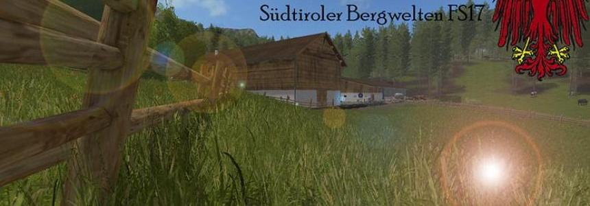 South Tyrolean mountain scenery v3.2 Multifruit & ChoppedStraw