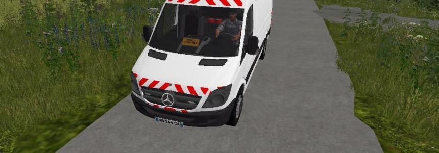 Sprinter Convoi Forestier FS17 v1.0