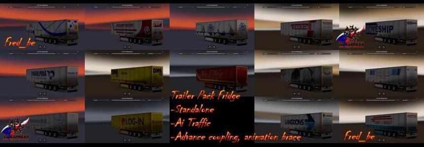 Trailer Pack Fridge v1.26 (39 skins) 1.26.Xs